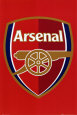 Arsenal Football Club – Vereinsabzeichen Poster