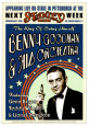 Benny Goodman Orchestra at the Stanley Theatre, Pittsburgh, Pennsylvania, 1936 Kunsttryk af Dennis Loren