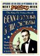 Benny Goodman Orchestra at the Stanley Theatre, Pittsburgh, Pennsylvania, 1936 Kunsttryk af Dennis Loren