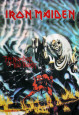 Iron Maiden - The Number of The Beast Fabric Poster