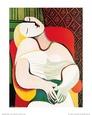 The Dream Kunsttryk af Pablo Picasso