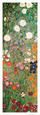 Blhender Garten mit Pfad (Detail) Kunstdruck von Gustav Klimt