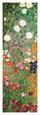 Blomsterhave, udsnit Kunsttryk af Gustav Klimt