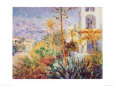 Bordighera Art Print by Claude Monet