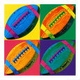 Ball Four: Football Reprodukcja według Hugo Wild