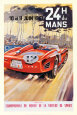 24 heures du Mans, 1961 Reproduction d'art par Michel Beligond