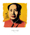 Mao, 1972 Kunstdruck von Andy Warhol