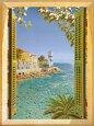 Finestra Sul Mare Kunsttryk af Andrea Del Missier