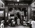 Café de France Lámina por Willy Ronis