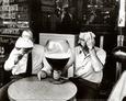 Mad og drikkevarer (sort/hvid-fotografi) Posters