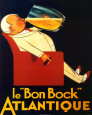 Le Bon Bock Mini-affiche