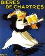 Ølreklame, på fransk Miniplakat