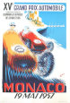 Monaco Grand Prix, 1957 Reproductions pour les collectionneurs par B. Minne