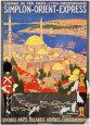 Orient Express Kunsttryk