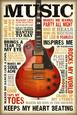 Musikinstrumenter Posters