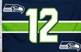 NFL Seattle Seahawks 12th Man Flag Bandera