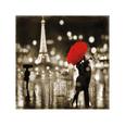 A Paris Kiss Giclée-tryk af Kate Carrigan