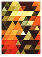 Abstrakt Digital Art (dekorativ kunst) Posters