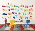 Whimsical Alphabet Duvar Çıkartması