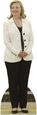 Hillary Clinton - White Jacket Lifesize Standup Stand Figürler