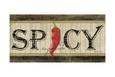 Spicy Kunsttryk af Jennifer Pugh