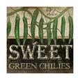 Sweet Green Chilies Kunsttryk af Jennifer Pugh