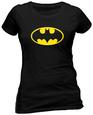 Juniors: Batman - Logo T-shirt młodzieżowy (dopasowany krój)