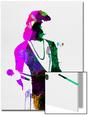Freddie Watercolor Arte en acrílico por Lora Feldman