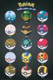 Pokemon- Pokeballs Pôster