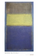 No. 2/No. 30  (Yellow Center) Kunsttryk af Mark Rothko