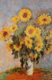 Sunflowers (Monet) Posters
