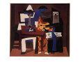 Three Musicians, c.1921 Lámina por Pablo Picasso
