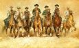 Magnificent Seven Art Print by Renato Casaro