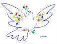 Fredsdue Kunsttryk af Pablo Picasso