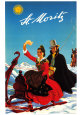 Saint-Moritz 1944 Reproduction d'art par Hugo Laubi
