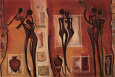 African Influence (Decorative Art) Posters