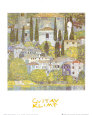 Church at Cassone sul Garda Kunstdruk van Gustav Klimt