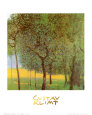 Orchard Art Print by Gustav Klimt