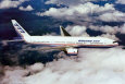 Boeing 777-200 in Flight Poster