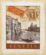 Destination Venezia Kunsttryk af Tina Chaden