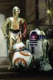 Star Wars- Droids Pôster