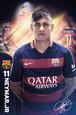 Barcelona- Neymar 15/16 plakat