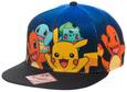 Pokemon Group Gradient Snapback Gorra