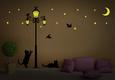 Glow In The Dark Street Light Duvar Çıkartması