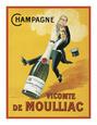 Şampanya (Vintaj Resimler) Posters