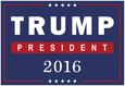 Trump For President 2016 Plakát