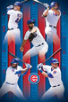 Chicago Cubs- 2016 Lineup Póster