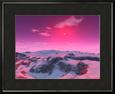 A Hypothetical Planet Orbiting a Red Dwarf Star Lámina fotográfica enmarcada por Stocktrek Images
