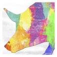 Colorful Swine Lámina por Sheldon Lewis