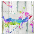 Pig Colorful Lámina por OnRei OnRei